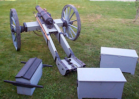 Cannon With Carriage